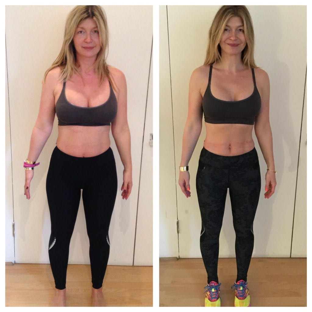 before and after pilates pt
