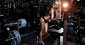 sweaty gym